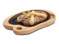 チーズバーグステーキ