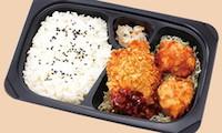 ひれかつ&若鶏の唐揚げ弁当